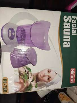 steamer facial sauna