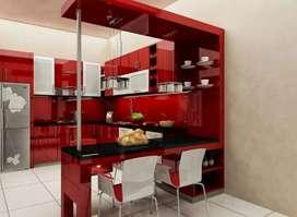 Interior Ruangan dan Kitchenset