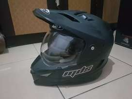 Helm MDS SUPERMOTO HITAM