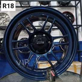 Velg Pelek Mobil Racing Ring 18 Enkei RPF1 Pajero Sport Termurah Baru