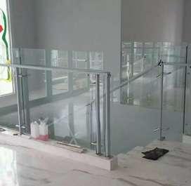 Design balcon stenlis elegan,siap melayani pemasangan