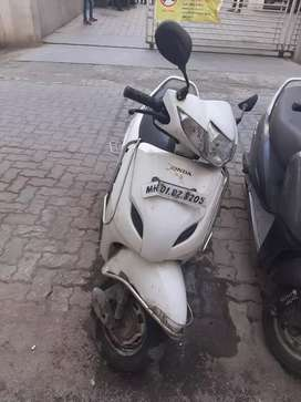 Honda Activa 3G (2015) , Well Maintained,  white colour