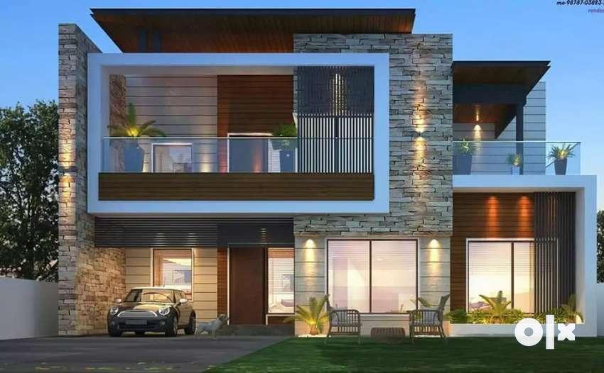 Barewal road brand new house 0