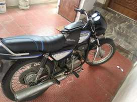Single user running condition new back tyre n