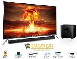 LED TV POLYTRON 32 inch -sounbar -Garansi 5 tahun