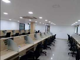 Fully furnished airconditioned office space 35+ workstations cochin