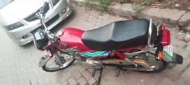Bike very good condition in 10by 10 ur chaska party door rhy