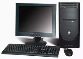 Computer ,CPU, Mouse, key board
