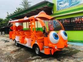 dijual wahana kereta mini kereta odong2 mobil wisata mesin carry promo