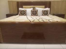 Hotel for rent furnished 17 bed for software & hospital & beuty parlar