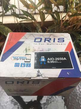 Dijual Audio Double Din 6,95 inch second merk ORIS