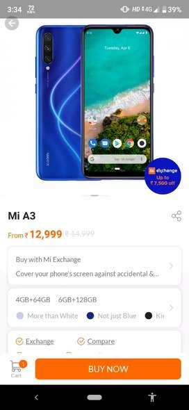 Mi a3 new phone