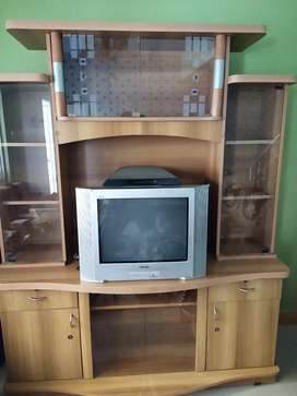 TV stand with show case