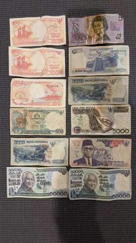 Uang kuno jual murah