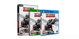 Pre oder sniper ghost warrior contracts PS4 and Xbox one