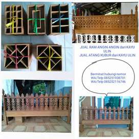 Barang READY Ram Angin Angin dari Kayu Ulin