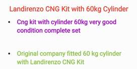 LandiRenzo complete EFI CNG Kit with cylinder and Stand