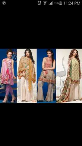 Ladies dresses stiching point