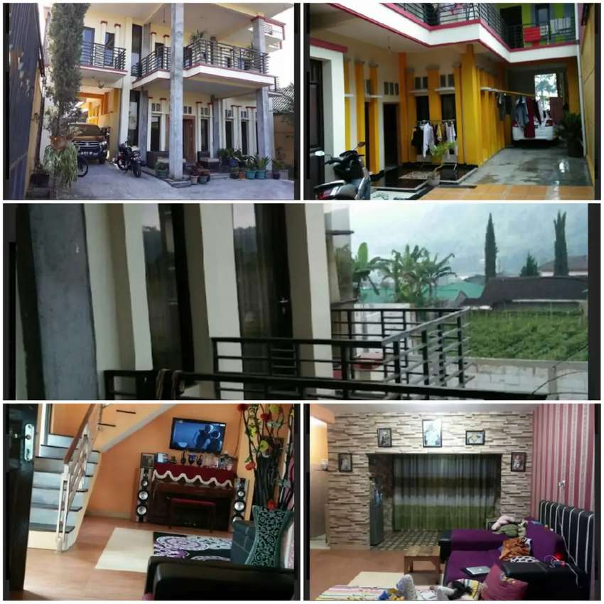 Rumah Villa 4lt diTawangmangu Lb 450m2 Jual Cepat 1,8M