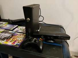 For sale: Xbox 360 with Kinect, Games