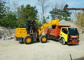 Wheel Loader with Powerfull Engine Murah Lincah Efisien Di Sukoharjo