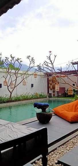 Sewa Villa Kolam Renang Pribadi & View di Batu Malang