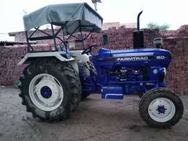 Farmtrac 60 showroom condition new brand tractor h.2017 modle new tyre