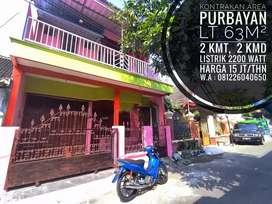 Kontrakan Area Purbayan, Dekat Gentan, Pajang, Laweyan, Makamhaji