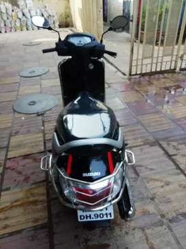 Suzuki access 125 black 2019