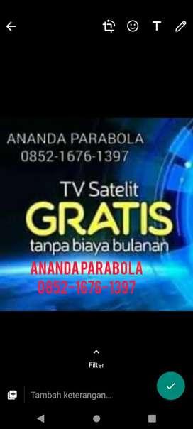Service, setting parabola dan antena tv digital