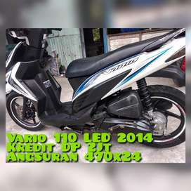Vario Led 2014 Putih Km20Rban Nyuss Full Ori