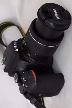 Nikon camera D56 double lunch