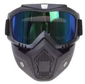 Masker Kacamata Retro Anti debu dan Gas Air Mata Murah