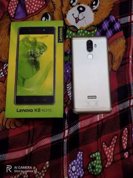 K8 note 4gb 64gb excellent condition mobile