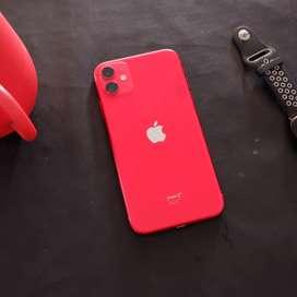 Iphone 11 64gb warna Red Garansi Resmi TAM