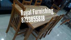 New pure teak dining available