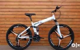 RAJ CYCLES::NEW MAC WHEEL 21 GEARS SHIMANO FOLDING CYCLE AVAILABLE