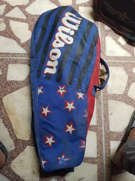 Badminton, Squash, Tennis bags imported used and good condition