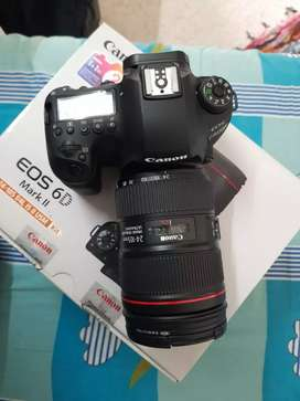 Camera canon 6D Mark II one lens all accessories available original