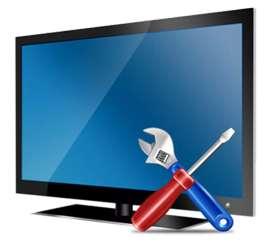हमारे यहाँ आधुनिक मशीन द्वारा Led Tv - Lcd Tv रिपेरिंग की जाती है