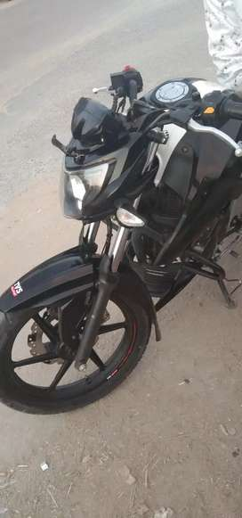 Old documents complete good condition new look Apache RTR bike