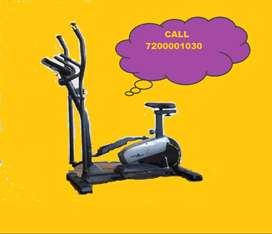 ELLIPTICAL FOR COMPACT AND COMFORTABLE  USE