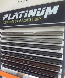 Kaca Film Platinum warna Coklat | Boss Audio Mobil Jogja