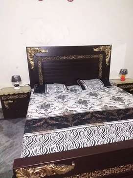 Complete bed set double bed