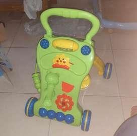 Baby push walker , Alat bantu jalan bayi , mainan anak