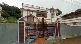 12.5 Cents 4 BHK House Near Thengana-Changanacherry
