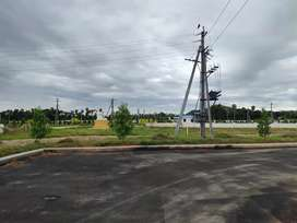 Kothavalasa Vizianagaram road vuda plots sales at Bheemali