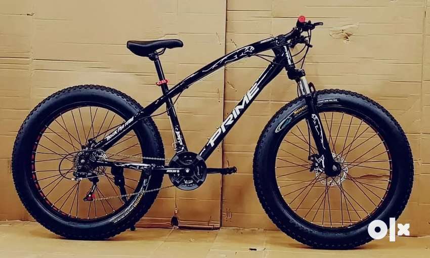 Brand new cycles with dual disc brakes