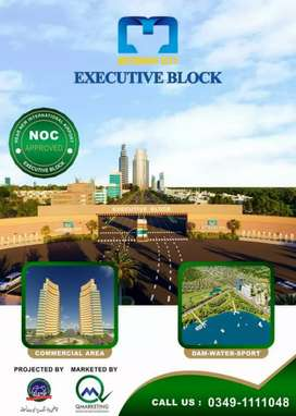 5 Marla Plot (File) for Sale in Motorway City Executive Block