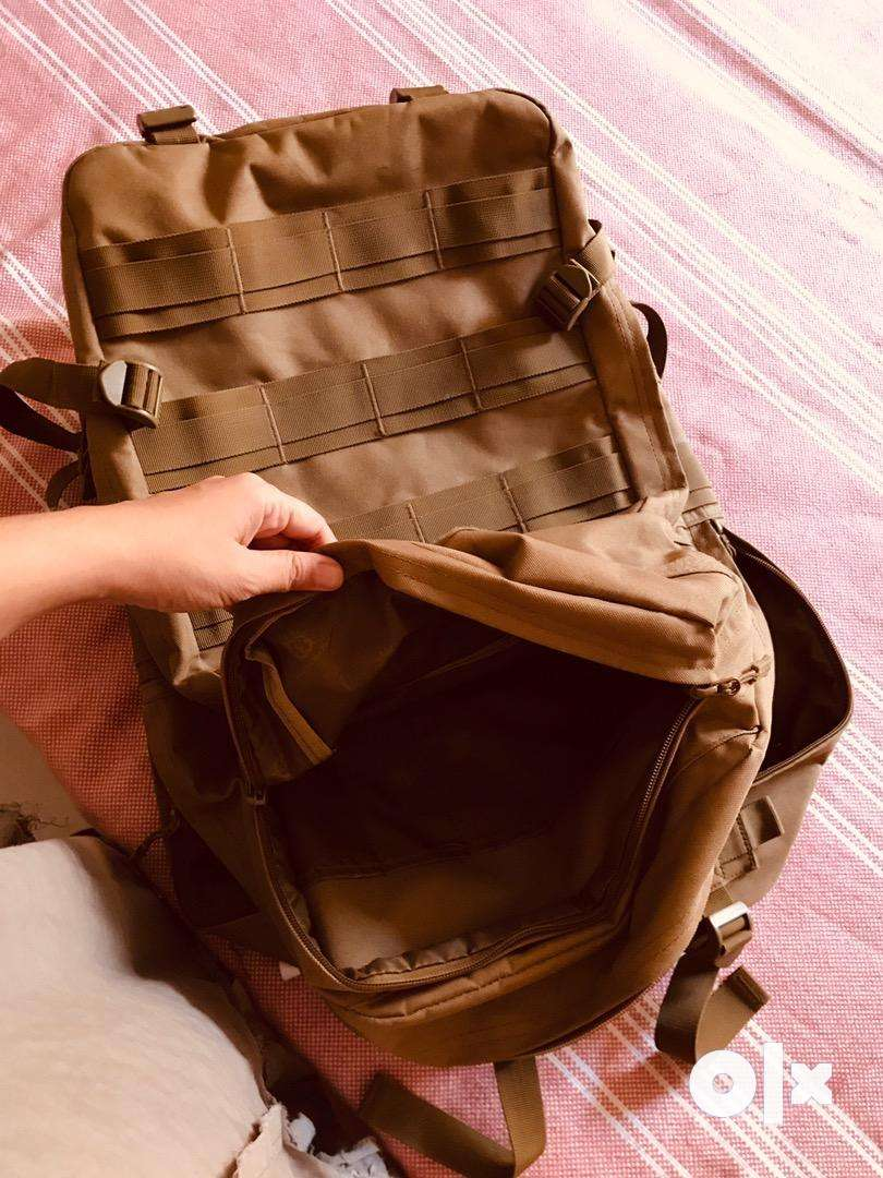 large 55l military tactical backpack 0